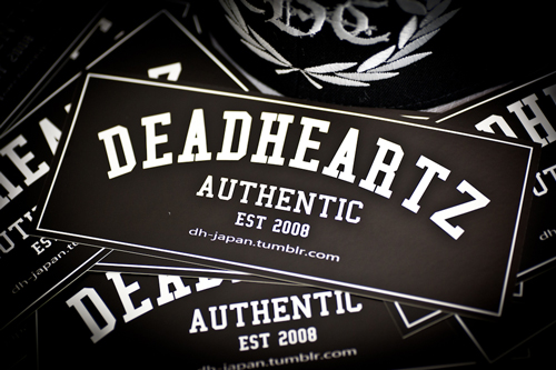 DEADHEARTZ Big Sticker
